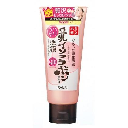 日本SANA豆乳美肌Q10保湿弹力光泽洗面奶150g 日本本土款!