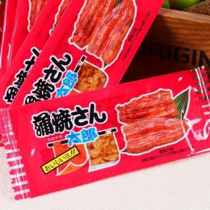 日本小吃菓道蒲烧さん太郎烤鳗鱼 鱼肉干 鱼片干3g 酱香